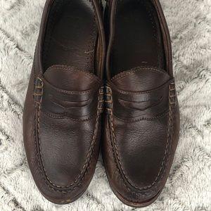 Allen Edmonds Flagstaff Leather Penny Loafers